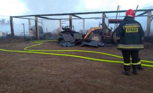 Pożar zabrał dorobek życia rolników z Podlasia, Foto: OSP Zabłudów