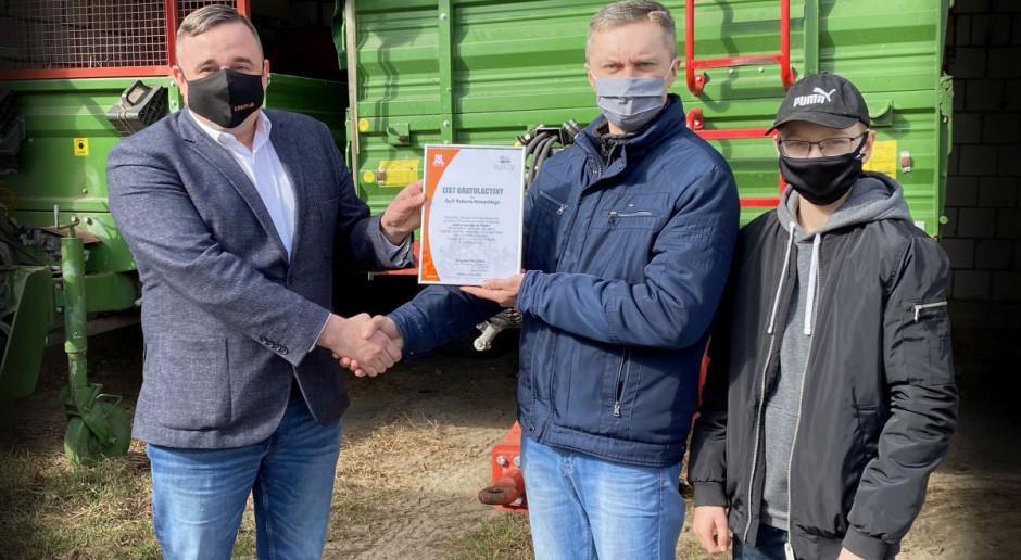 Rolnik z Lubelszczyzny wygrał przyczepę