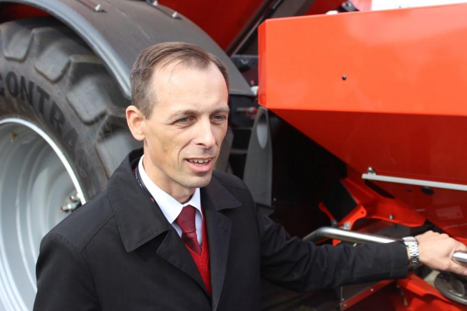 Artur Szymczak, dyrektor zarządzający Kuhn Maszyny Rolnicze, fot.kh