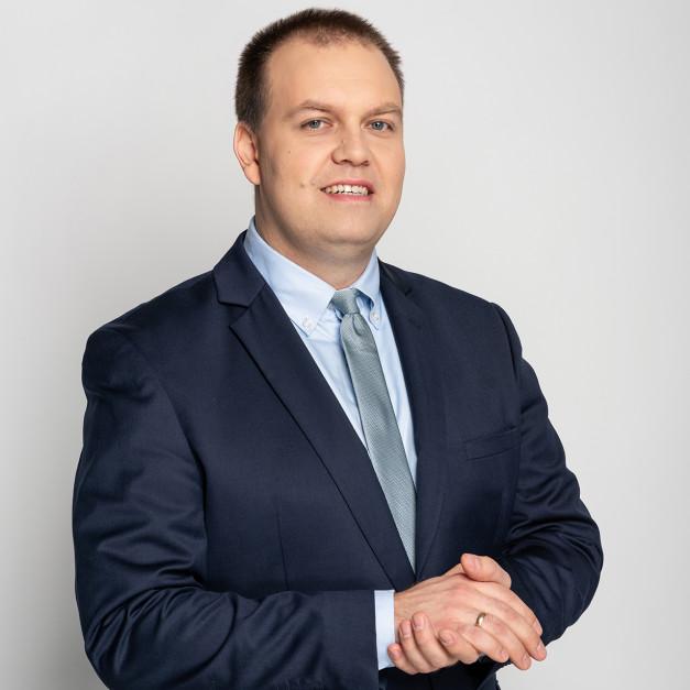 Dr Jakub Danielewicz.Fot. IOR-PIB
