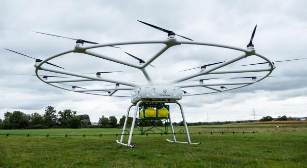 Dron mapujący wspomagający oprysk, czyli ciekawy eksperyment z Francji
