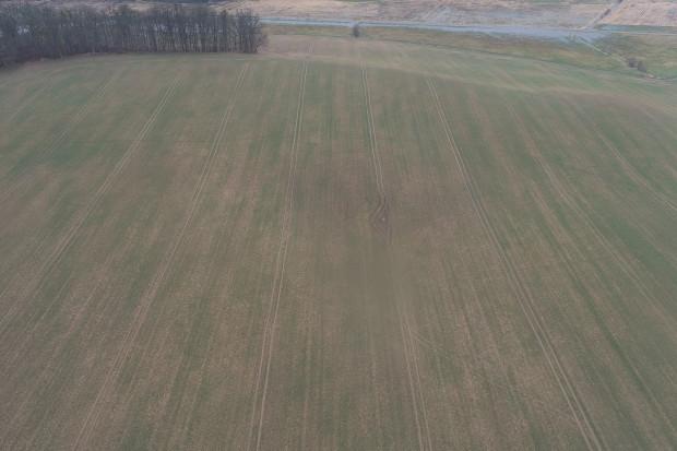 RSkutki wyprzenia widziane z drona Fot. Dawid Chwirot