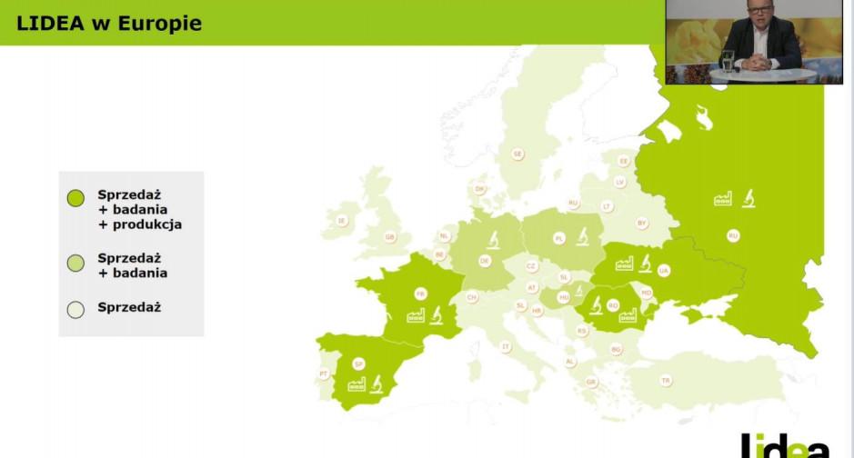 Lidea w Europie