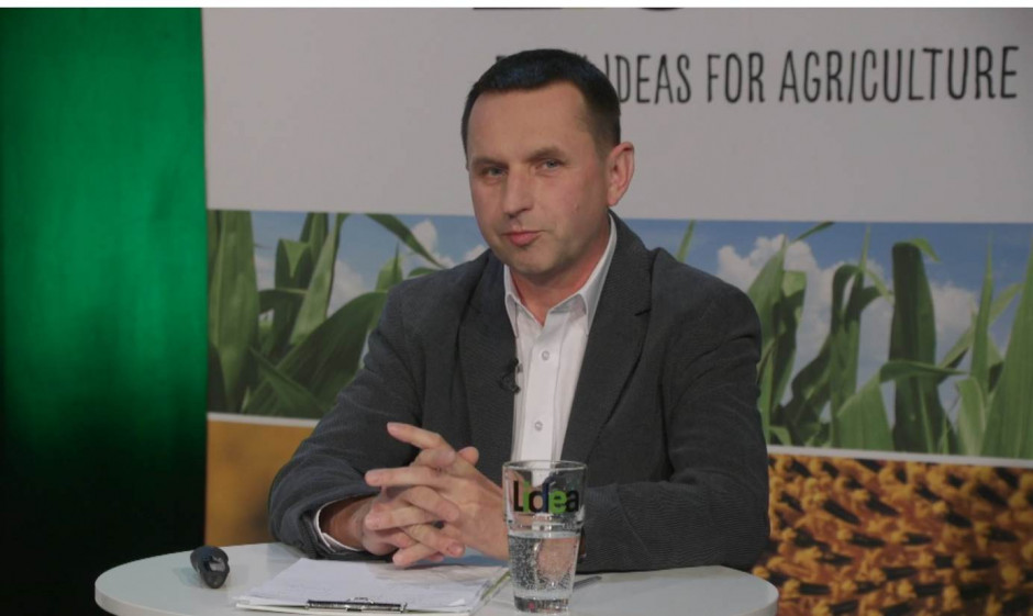 Błażej Springer, Marketing & Crop Menager, Lidea. Fot. A. Kobus