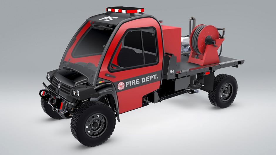 Gator w wersji dla straży pożarnej fot. John Deere