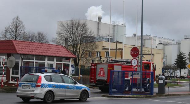 Pożar w gostyńskiej mleczarni, milionowe straty