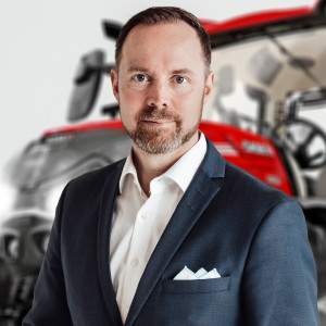 Ville Mansikkamaki, wiceprezes Case IH Europe fot. mat. prasowe