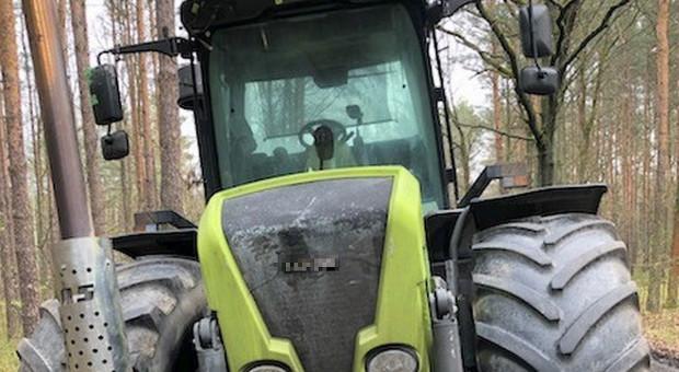 Skradziony traktor już odzyskany