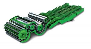 Cechą szczególną maszyn amerykańskiego koncernu jest m.in. zastosowanie dodatkowego bębna separującego o średnicy aż 800 mm