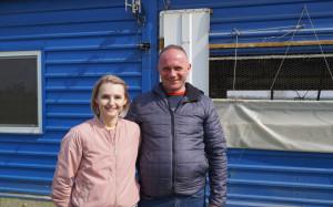 Marek i Violetta Martyniukowie prowadzą współpracę z Agri Plus sp. z o.o. w ramach tuczu kontraktowego. fot. materiały prasowe