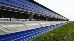 Kurtyny powietrzne są otwierane w zależności od konieczności zwiększenia wymiany powietrza. fot. materiały prasowe