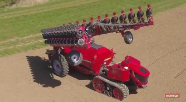 Autonomiczny nośnik narzędzi Horsch Robo już sieje kukurydzę!