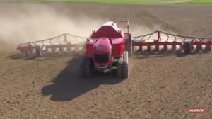 Autonomiczny nośnik narzędzi Horsch Robo ma za sobą pierwsze zasiane hektary, fot. Twitter/Philipp Horsch