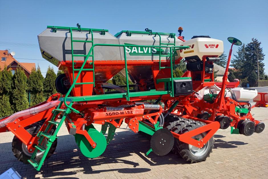 Siewnik do uprawy bezorkowej Salvis 3800, to zmodyfikowana wersja siewników Salvis T i Salvis Z Fot.BW
