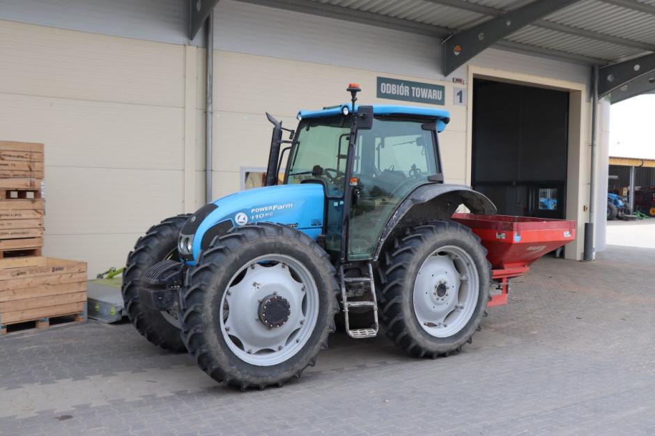 Jeden z pierwszych ciągników w gospodarstwie - Landini Powerfarm 110 HC fot. Tomasz Kuchta