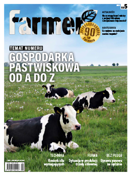 okładka numeru miesięcznika Farmer 5/2021