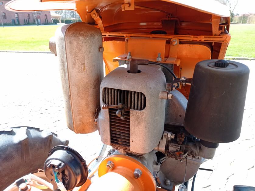 Napędzający Dzika-21 silnik WSM typ 160 o pojemności 372 cm sześcienne miał 10,5 KM fot. Adam Ładowski