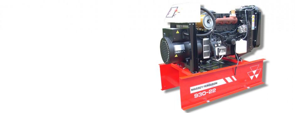 MF930 to seria generatorów prądu niezbędnych w szpitalach, czy wszędzie tam, gdzie nie ma linii fot. Massey Ferguson