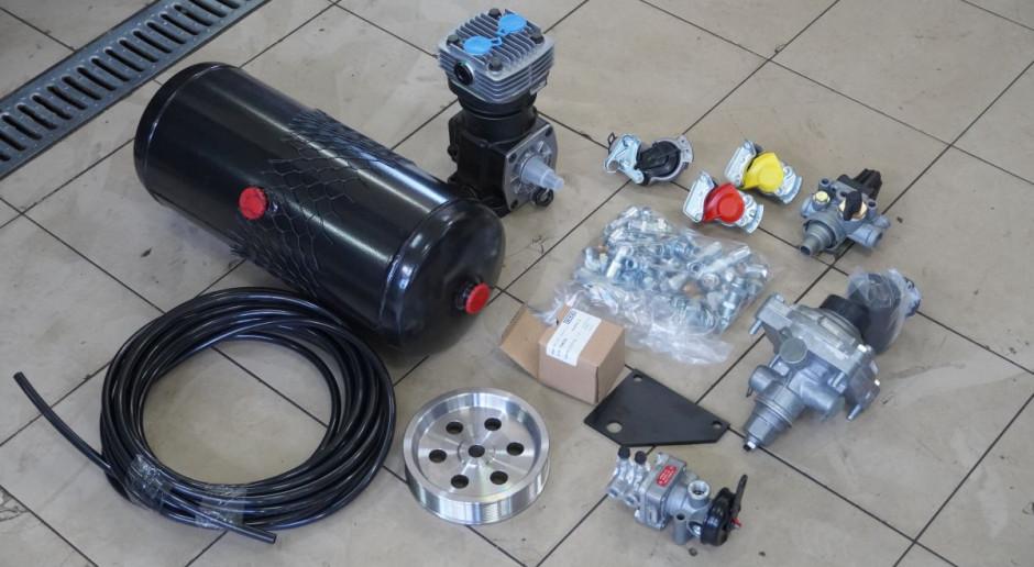 Instalacja pneumatyczna do ciągnika. Jak to się montuje i ile kosztuje?