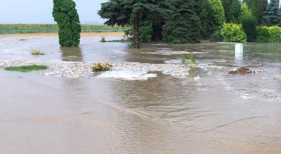 Małopolskie: Alarm powodziowy w powiecie oświęcimskim