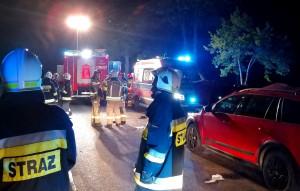 Na miejscu pracowały cztery zastępy strażaków, Foto: OSP Kraszewo