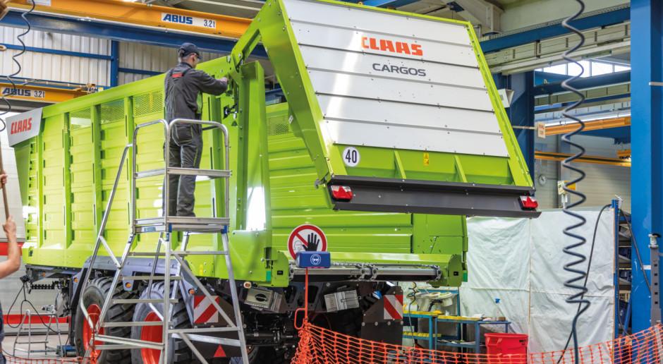 Jak powstają przyczepy Claas Cargos?
