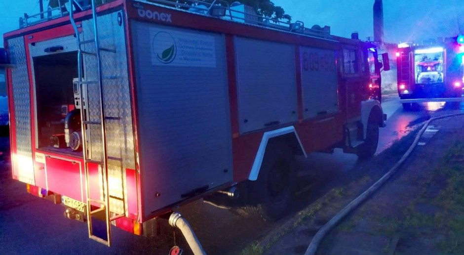 W jedną noc spłonęły trzy stodoły