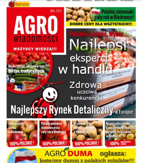 Screen strony biedronka.pl