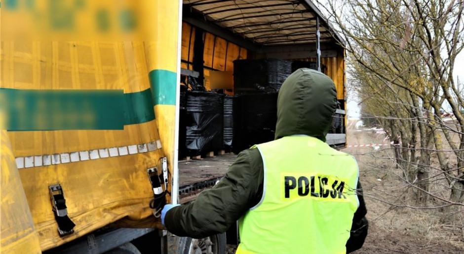 Nielegalny transport niebezpiecznych chemikaliów