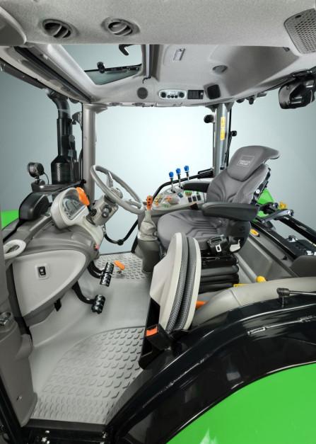 Nowa kabina Deutz-Fahr TopVision, fot. SDF