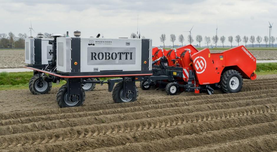 Dewulf i Agrointelli: będzie autonomiczna sadzarka do ziemniaków?