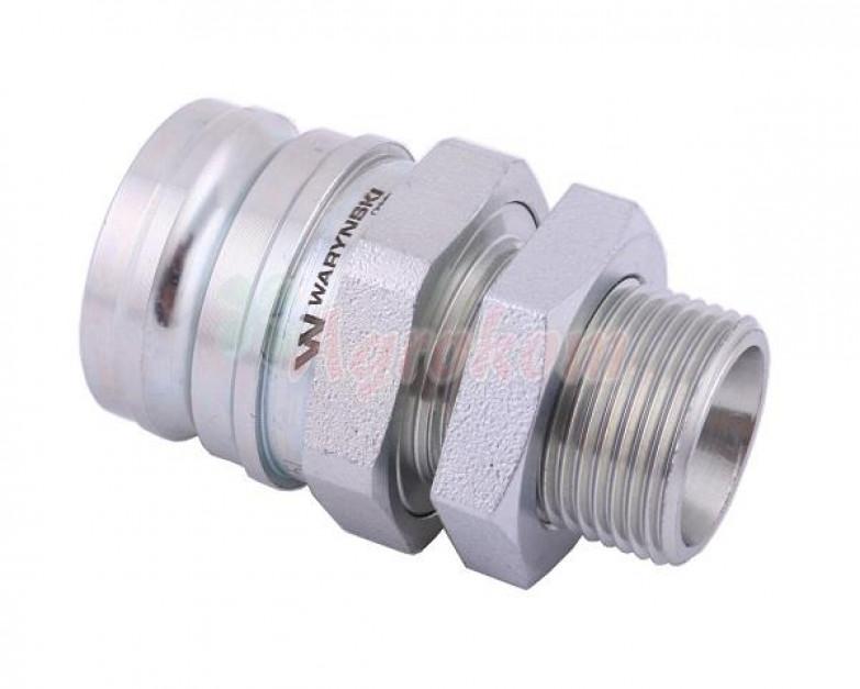 Szybkozłącze hamulcowe wtyczka m22x1-5 gwint zewnętrzny