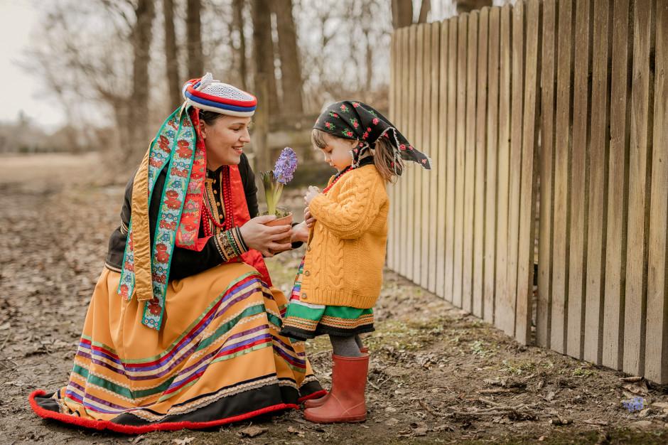 Milena Mamcarz z Michalinką, fot. KGiGKS