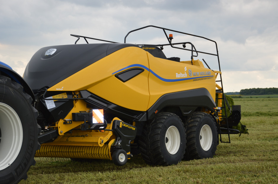 Prasa New Holland Big Baler 1290 High Density została wyróżniona w konkursie Good Design. Zdjęcie: Wołosowicz