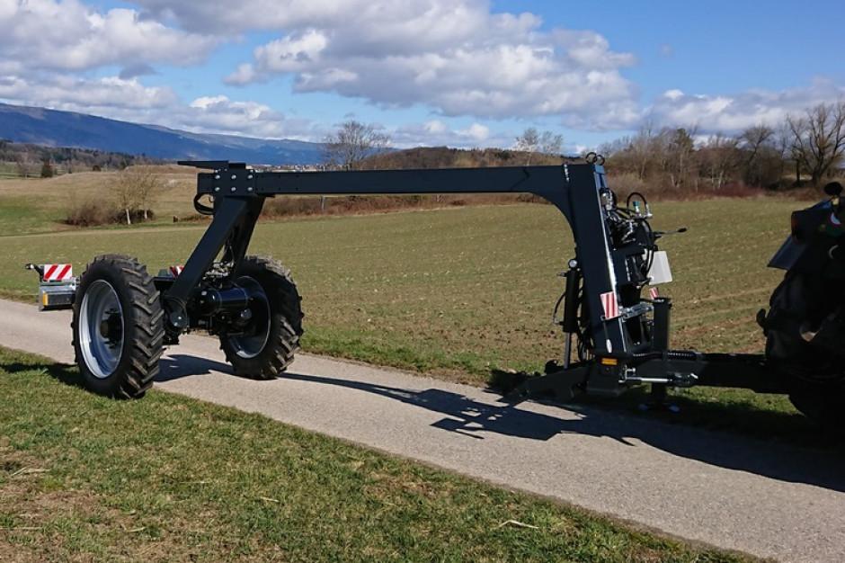 Row Chipper jest wyposażony we własny układ TUZ oraz oś sterowaną z użyciem GPS. Zdjęcie: Walter Marolf