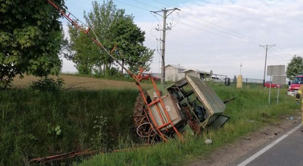 Wypadki z udziałem ciągników – poszkodowani traktorzyści