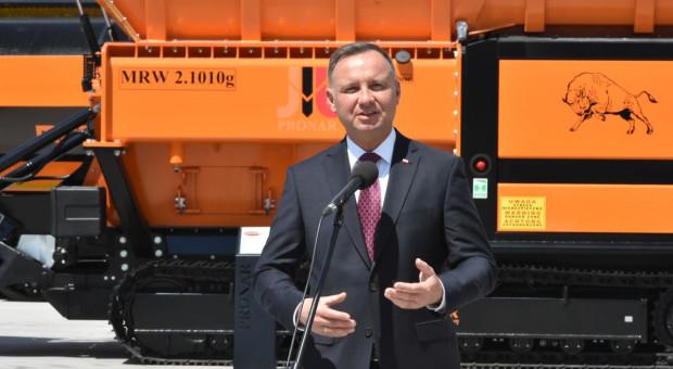 Prezydent Andrzej Duda z wizytą w Pronarze