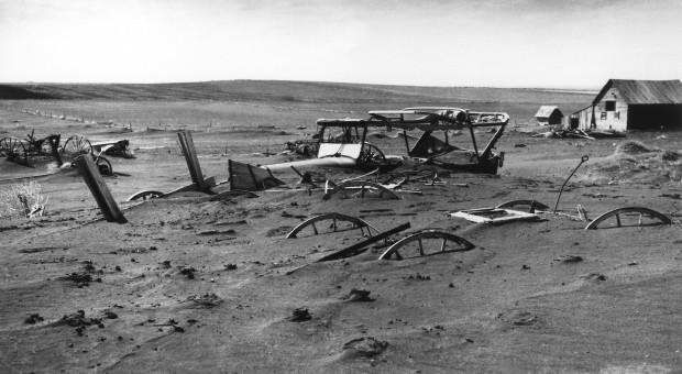 Największa katastrofa glebowa w dziejach