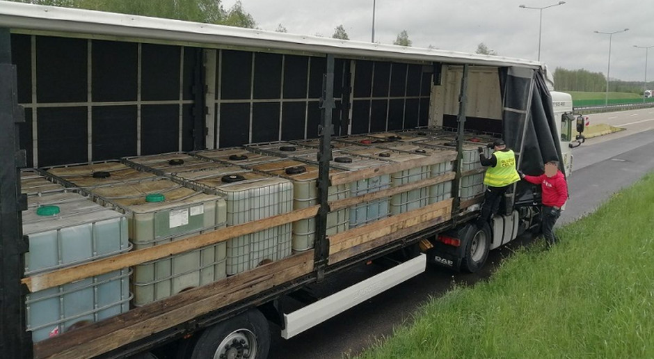 Nielegalny transport paliw