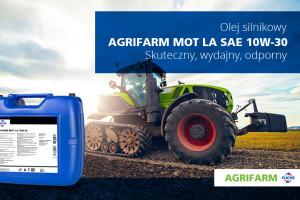 AGRIFARM MOT LA SAE 10W-30 - olej do silników pojazdów rolniczych