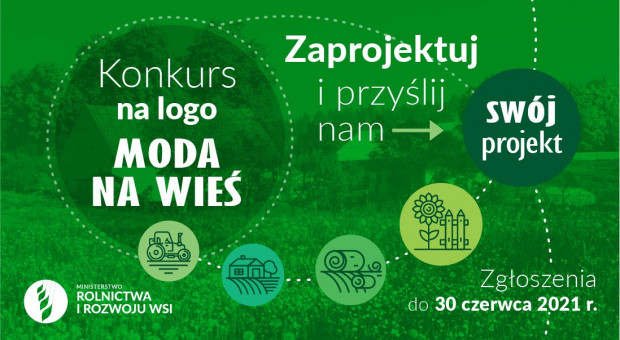 """MRiRW ogłasza konkurs na logo """"Moda na wieś"""""""