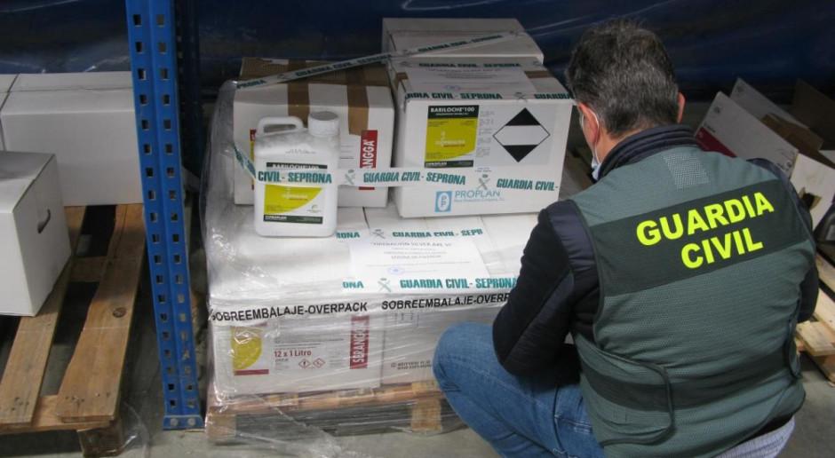 Nielegalne pestycydy o wartości 80 mln euro przechwycone