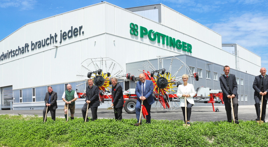 Pöttinger otworzył nową fabrykę