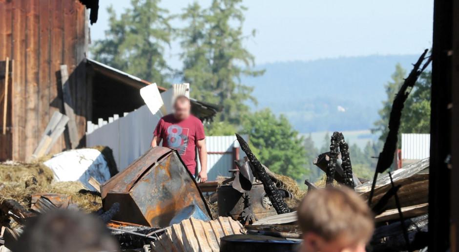 MRiRW zapowiada pomoc dla rolników poszkodowanych w pożarze