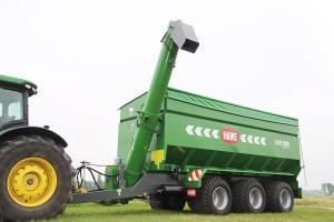 Hawe to niemiecki producent oferujący wozy przeładunkowe opojemnościach od 16do 50m3