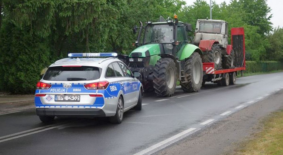 Policjanci odzyskali skradziony ciągnik rolniczy