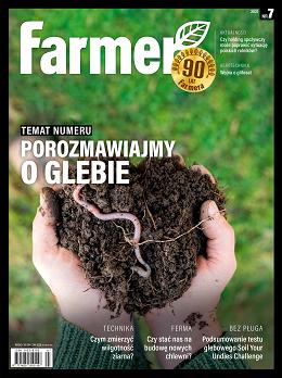 okładka numeru miesięcznika Farmer 7/2021
