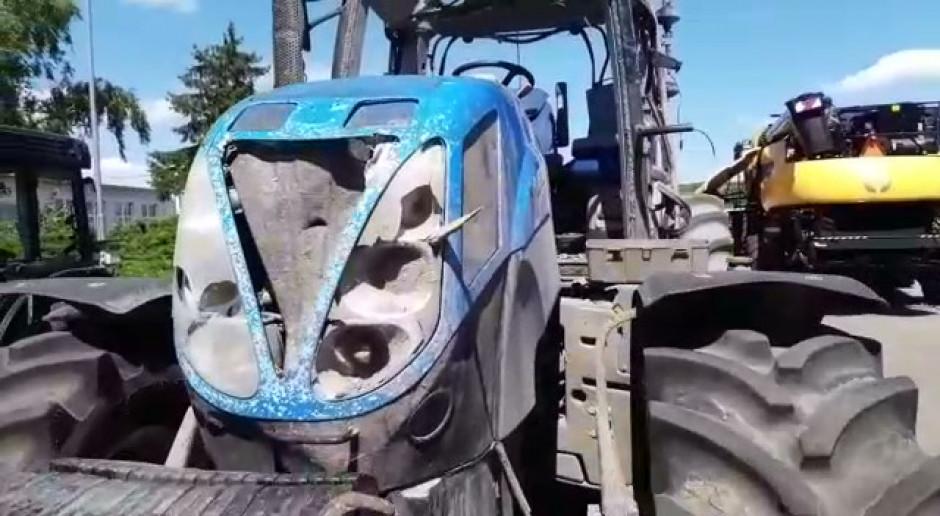 Maszyny zniszczone przez burze! Ciągnik kontra tornado