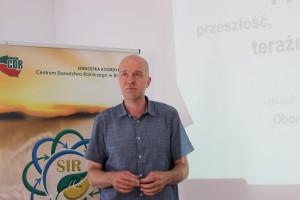 O systemie FADN i jego przyszłości mówił dr Dariusz Osuch, fot.Ł.Ch..JPG