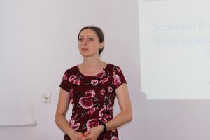 Iwona Obojska-Chomiczewska omówiła zasady funkcjonowania sieci SIR, fot.Ł.Ch..JPG
